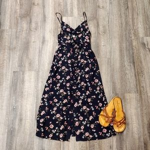 American Eagle Floral Midi Dress